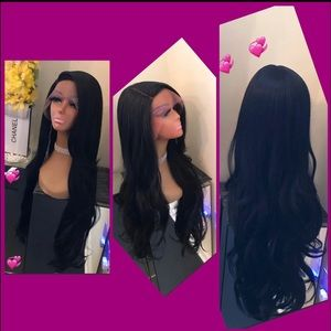 Human Hair Blended Lace front wig ❤️🔥❤️🔥